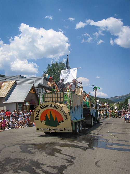 RMT parade float